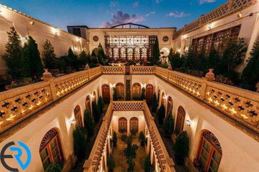 کافیشاپ هتل قصر منشی