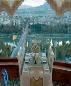 رستوران گردان هتل آسمان